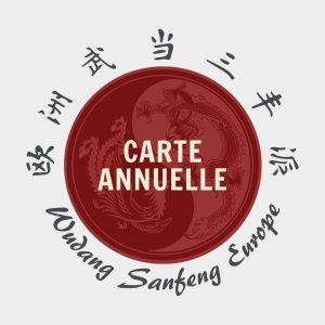 Carte Annuelle Tai Chi Chuan